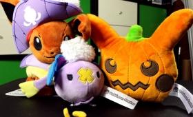 A Very Pokémon Plushie Halloween