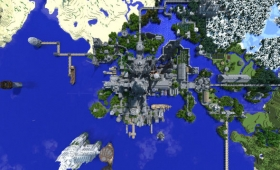Guy Spends Five Years Building A Minecraft Castle
