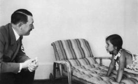 ヒトラーがその愛情を注いだとされる少女、パウル・ヨーゼフ・ゲッベルの娘「ヘルガ」