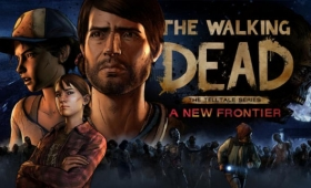 "Season Three of Telltale's The Walking Dead, titled ""A New Frontier,"" will premiere December 20th on"
