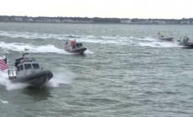 ドローンボート部隊の性能をアメリカ海軍が沿岸防衛でテスト