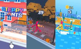 Appleが「2016年のベストゲーム」のひとつに選んだ中毒性高めの無料ゲーム「Steppy Pants」をプレイしてみた