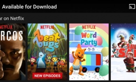 Netflix Adds Downloads For Your Offline Viewing Pleasure