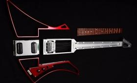 ピックアップもシュシュっと換装! モジュール式エレキギター「Somnium Guitars」がNAMMで発表