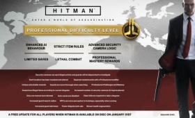 Hitman's January Update release notes are out, which hits on January 31 to coincide with the physica