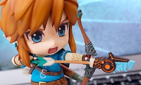Breath Of The Wild Gets Its Own Big-Headed Link Figure