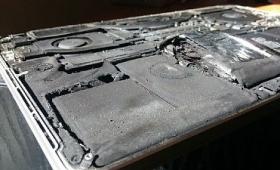2015年型MakBook Pro Retinaが突如爆発・炎上するアクシデントが発生