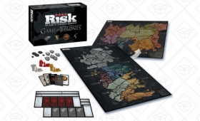 When You Play the Game of Thrones (Risk), You Win, Or You Pay For the Pizza