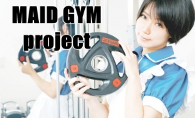 In Japan, You Can Lift Weights With Maids