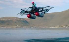 年内販売決定!1人乗り水上電動飛行機「キティ・ホーク・フライヤー」