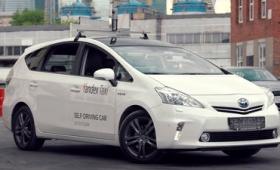 自動運転カーを利用したタクシーのデモムービーをYandexが公開