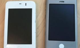 タッチスクリーン&ソフトキーボードという革新的技術を開発したiPhoneのプロトタイプ「Wallabies」