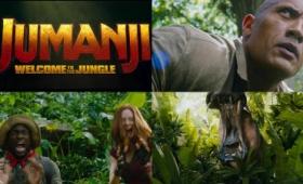 ドウェイン・ジョンソン主演でリメイクされた「JUMANJI: Welcome To The Jungle」公式トレーラー公開、ド迫力のCGは健在