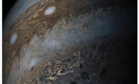 【怖すぎ】木星の帯は「地球より大きい」NASAが木星の超高解像度画像を公開!