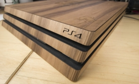 Wrapping My PlayStation 4 In Wood