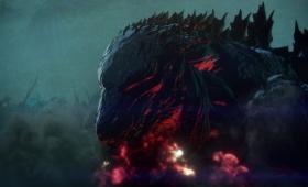 アニメ映画『GODZILLA 怪獣惑星』予告編。2万年後のゴジラの顔も映る!