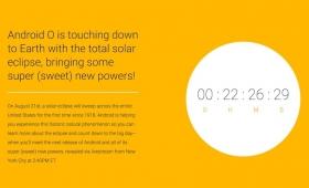 なにかが起こる…? 「Android O」正式公開イベントが皆既日食の8月22日に開催へ