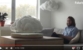 【なにこれ欲しい!】部屋の中で「ガチで浮く雲」を鑑賞できるインテリアが話題となる!