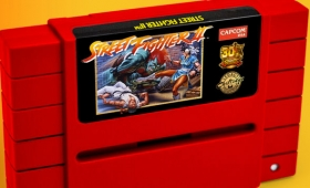 Capcom Is Re-Releasing Street Fighter II On A SNES Cartridge