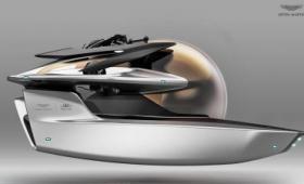 英高級車メーカーのアストン・マーティンがラグジュアリーなプライベート潜水艦「Project Neptune」のデザインを公開
