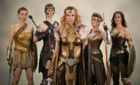 Cosplayers Create Their Own Wonder Woman Vanity Fair Shoot