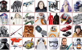 All the Glorious New Star Wars: The Last Jedi Toys Revealed for Force Friday II (UPDATING)