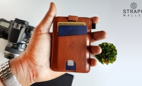 This Inexpensive Front Pocket Wallet Gives You Easy Access to a Ton of Cards and Cash