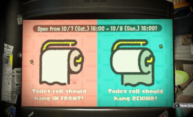 Splatoon Toilet Paper Joke Becomes Splatfest Reality