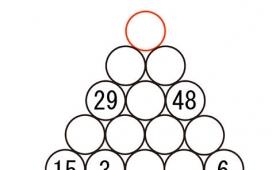 超難問!赤い円の中に入る数字を2分で答えられたら天才!