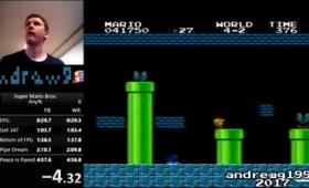 いまなお研究され続ける「スーパーマリオブラザーズ」のステージ4-2最速攻略の知られざる歴史とは?