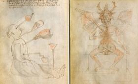 ルネサンス期、独創的な発明品を考案した鬼才「ジョバンニ・フォンタナ」の描いたイラスト図が無料ダウンロード公開中