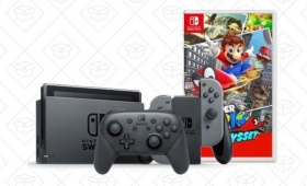 Blow Your Tax Refund On a Nintendo Switch With This (Slightly) Discounted Bundle