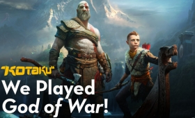 We Played An Hour Of The New God Of War And Really Liked It