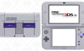 Surrender To Nostalgia With a Great Deal on the New 3DS XL SNES Edition, Complete With Super Mario Kart