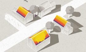 「自宅にソーラーパネルを設置するべきか」を色で教えてくれるGoogleの「Project Sunroof」が世界に拡大中