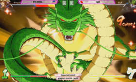 Go1 Summons The Dragon In Dragon Ball FighterZ Match