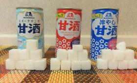 冷やして美味しい!森永甘酒に含まれる炭水化物の量を視覚化した結果!