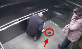 エレベーター内で銃が暴発。誤って自分自身を撃ってしまった男性の姿が監視カメラ映像にとらえられていた(アメリカ)