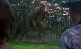 なぜ履かせたし。もしも「ジェラシック・パーク」の登場人物がすべてハイヒールを履いていたら?(含恐竜)