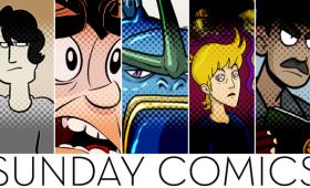 Sunday Comics: Scary Cuddle