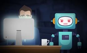 威圧的なロボットに監視されることでも人の集中力はアップすることが判明