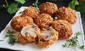 サクッサクでジュワー。後を引くうまさ!オーブントースターで簡単調理、マッシュルームのナッツ包み焼きのレシピ【ネトメシ】