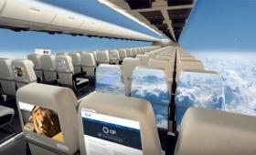 え?これが機内だと!?外の景色を丸ごと堪能できる未来の飛行機の姿(イギリス)