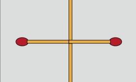 間違っていないかこの問題?マッチ棒を1本だけ移動して正方形を作る問題!