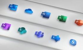 Microsoft Officeのアイコンデザインが刷新される