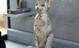 古代ピラミッドの墓の中から数十体の猫のミイラが発見される。他にもスカラベなど珍しいミイラが続々と