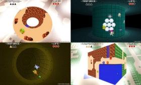 無料でプレイ可能な2Dゼルダのマップを立体的に攻略するパズルアクションゲーム「Triforce」