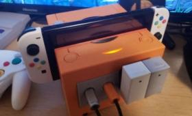 ニンテンドーゲームキューブでNintendo Switch用のドックを作成