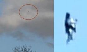 フライングヒューマノイドみたいな?何かを抱えてながら空飛んでる黒い人影のような浮遊物体が目撃される(ニュージーランド)