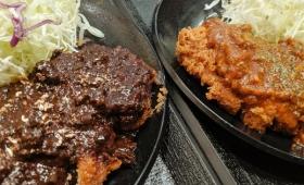 「黒のシビ辛」と「赤のピリ辛」が大量発汗を誘う「麻婆ロースカツ定食&ケイジャンロースかつ定食」を松のやで食べてきた